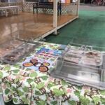 つむぎ庵 - 駐車場にて惣菜販売