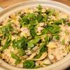 上田 - 料理写真:2500円コースより浅利の土鍋ご飯(●´ω`●)