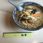 中華風レストラン 紅華 - 味噌タンメン