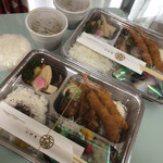 活魚料理 魚どころ大善 - 購入品 大盛りのご飯はラップに包んでw