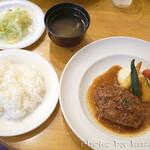 キッチンれん - ハンバーグ
