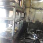 森下浪花家 - 一丁焼きの焼き台