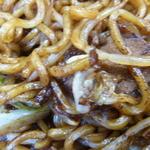 まちこ庵 - 少しぱさついた太麺