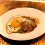 ハナドラ - 料理写真:ハンバーグ