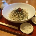 ひろしま 蕎麦人 - 梅おろし蕎麦
