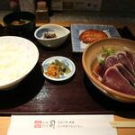 土佐料理 司 - 土佐定食です☆ 2020-0512訪問