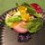 炭火焼きステーキ灰屋 - 料理写真:八街産の新鮮野菜がたっぷり!