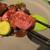 炭火焼きステーキ灰屋 - 料理写真:豪州産とは思えない柔らかいお肉!