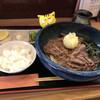 讃岐麺屋 あうん - 料理写真:肉玉ぶっかけ冷 960円(税込) ※小ご飯付き