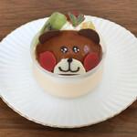 ロンシャン洋菓子店 - くまちゃんプリン(395円)