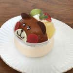 ロンシャン洋菓子店 - くまちゃんプリン