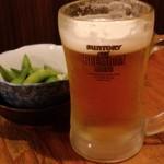 三平らーめん - 生ビール