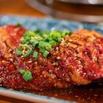 亀戸ホルモン - 2019.8 レンガ(1,250円)牛ハラミの塊肉