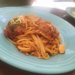 パスタ アルバ - モッツァレラチーズとバジル
