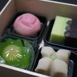 Kagizenyoshifusa - 生菓子4種セット