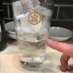 餃子酒場ナナホシ - お替り焼酎、この位(2020.4.3)