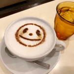 ピーくんカフェ - ピーくんカフェラテ