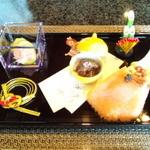 13036353 - お正月コースの前菜(キャビアあり!)