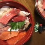 発寒かねしげ鮮魚店 - ワイルド海鮮丼