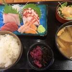 魚○ - 刺身定食