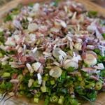 地場どれ新鮮市場 くじらはま - 料理写真:かつおの藁焼き(薬味は自前)