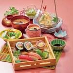 白鳥 甲羅本店 - 寿司ランチ