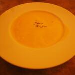 ステーキ石井 - 料理写真:コーンスープ