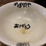 八幡山ばりきや - ありがとう