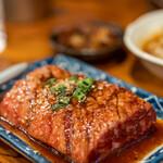亀戸ホルモン - 2020.5 レンガ(1,270円)牛ハラミの塊肉