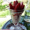 ラヴィング カフェ - 料理写真:イチゴパフェ