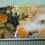 榴岡 銀杏 - 鰈の煮つけと島大根弁当780円