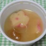 榴岡 銀杏 - サービスのお味噌汁も美味