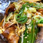 本格広島お好み焼き たにもと - 豚キムチ