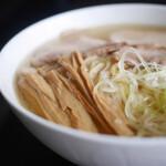 中華そば処 琴平荘 - 中華そば 塩 宅麺