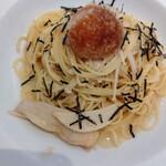 ナポリの食卓 パスタとピッツァ - きのこの和風おろしパスタ