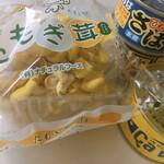 旬八青果店 - 缶詰は別の店のものです