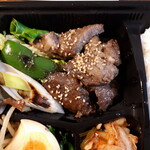 焼肉トザワ - 焼肉弁当のお肉
