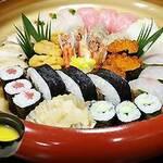 福ずし - 料理写真:特上にぎり盛り合わせ3人用