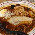 辛麺屋 辛いち - 辛旨特製スパイシー麺 ¥800小ライス付納豆トッピング¥100中辛 ¥50