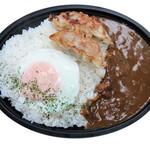 麺や ハレル家 - 黒豚餃子カレー