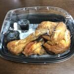 全力鶏 - 鶏籐の丸鶏の素揚げ