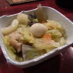 居酒屋五木&ひろし - お通し②八宝菜♪