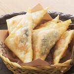 くいもの屋 わん - 明太子チーズのパリパリ揚げ