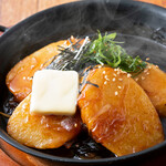 くいもの屋 わん - 長芋の鉄板ステーキ