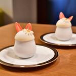 PARADIS - 料理写真:ウサたまプリン@450円