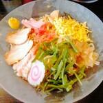 幸楽苑 - 冷やし中華(大盛り)醤油味 790円