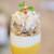 Bistrot Lucci - プリフィックスランチ 2052円 の人参とマンチェゴチーズのムース ズワイガニと帆立のカクテル
