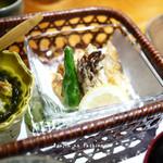 和の料理 ふじ - ふじ膳 1600円、揚げ物