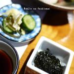 和の料理 ふじ - 海苔の佃煮