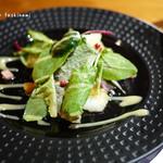 和の料理 ふじ - 白身魚の焼き物、サラダ仕立て